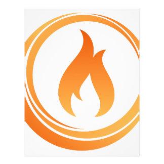 Fire Elements Letterhead