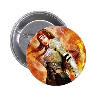 Fire Elf badge 2 Inch Round Button