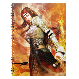 Fire Elf Notebook