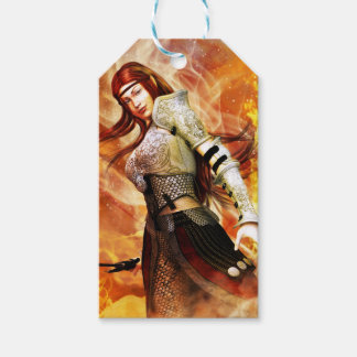Fire Elf Pack Of Gift Tags