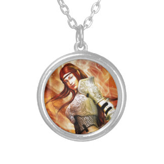 Fire Elf Silver Plated Necklace