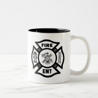 FIRE EMT Two-Tone COFFEE MUG