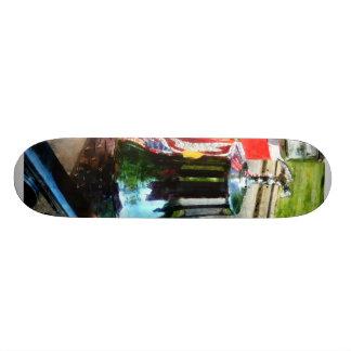 Fire Engine Bell Skate Board Deck