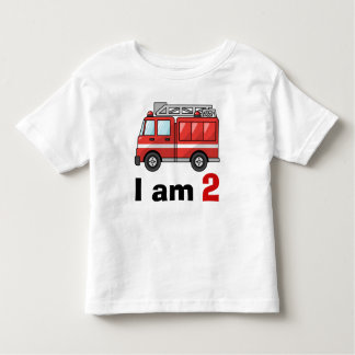 Fire Engine Birthday Toddler T-shirt