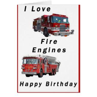Fire Engine Card