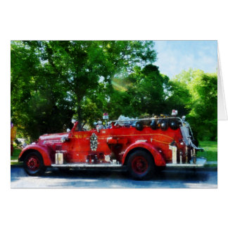 Fire Engine Card