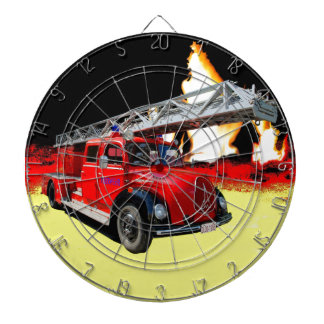 Fire engine dartboard