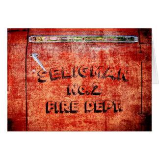 Fire Engine Door Card