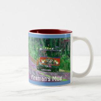 Fire Engine Fireman's Coffee Mug Drinkware