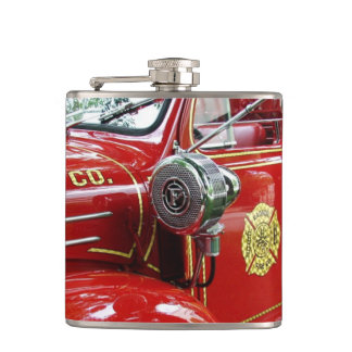 Fire engine flask.... hip flask