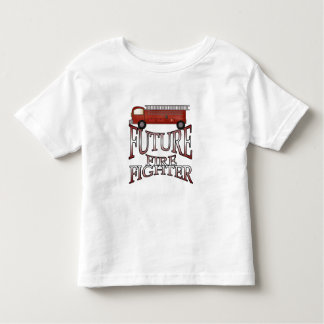 Fire Engine Future Firefighter Toddler T-shirt