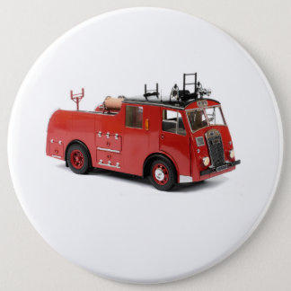 Fire Engine image for Colossal, Round Badge 6 Inch Round Button