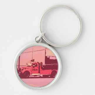 fire engine key chain
