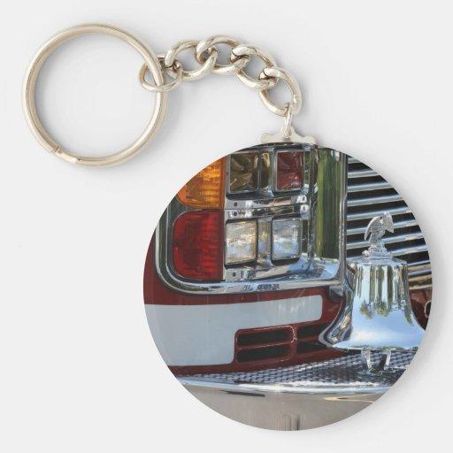 Fire Engine Keychain