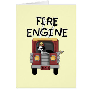 Fire Engine T-shirts and Gifts Card