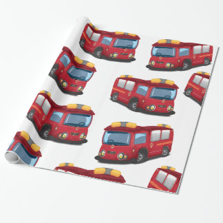 Fire Engines Wrapping Paper