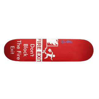 Fire Exit Skate Board Deck