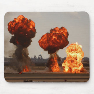 Fire Explosions Mouse Pad