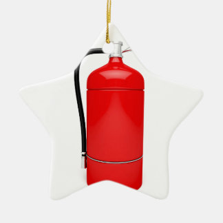 Fire extinguisher ceramic ornament