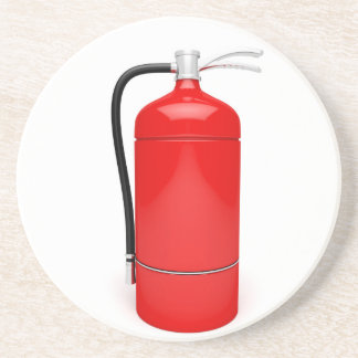 Fire extinguisher coaster
