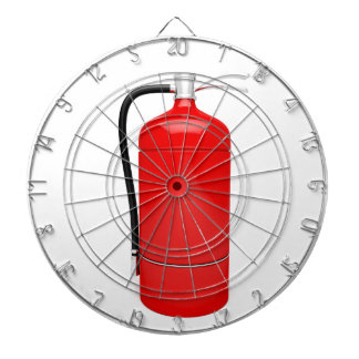 Fire extinguisher dartboard
