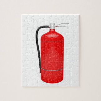 Fire extinguisher jigsaw puzzle