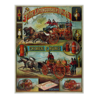 Fire Extinguisher Mfg. Co. Poster