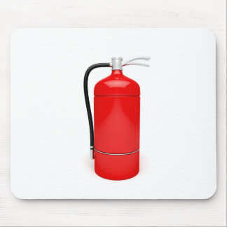 Fire extinguisher mouse pad