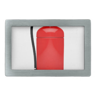 Fire extinguisher rectangular belt buckle