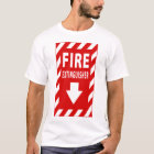 fire extinguisher sign T-Shirt