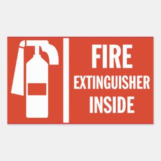 Fire Extinguisher Sticker