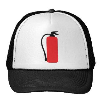 fire extinguisher trucker hat