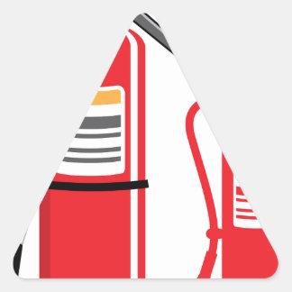 Fire extinguisher Vector Triangle Sticker