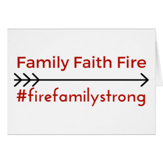 Fire Family Card