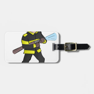 Fire Fight Luggage Tag