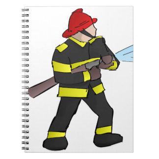 Fire Fight Notebooks