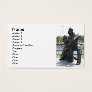 fire fighter business card