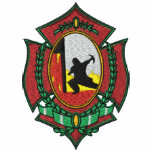 Fire Fighter Embroidered Shirt