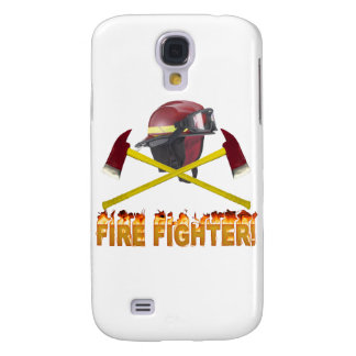 FIRE FIGHTER GEAR LOGO FLAMING TEXT