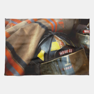 Fire Fighter - Hose company one Kitchen Towel