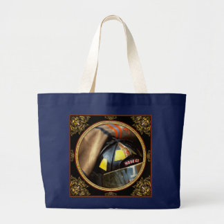 Fire Fighter - Hose company one Large Tote Bag