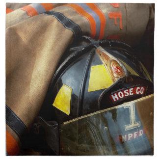 Fire Fighter - Hose company one Napkin