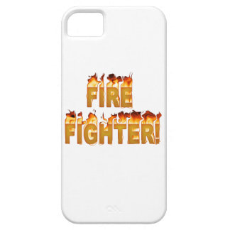 FIRE FIGHTER in Flames iPhone 5 Cover