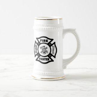 Fire Fighter Maltese Beer Stein