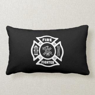 Fire Fighter Maltese Lumbar Pillow