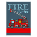 Fire Fighter Poster