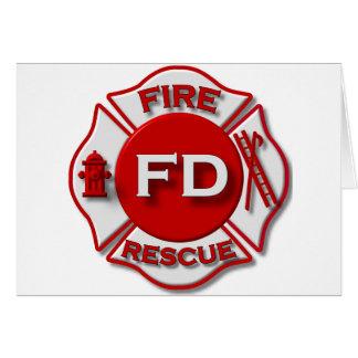 Fire Fighter Pride Card