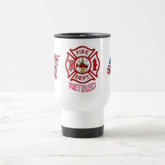 Fire Fighter Retired Mug