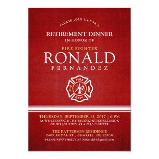 Fire Fighter Retirement Dinner | Event Invitation