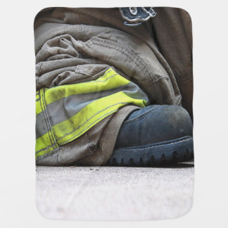 Fire Fighter Swaddle Blankets